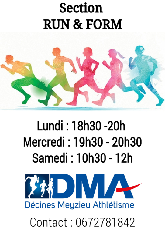 La section Run & Form, pour tous